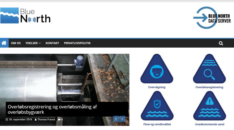 Billig Wordpress Hjemmeside til bluenorth.dk lavet af Dit Online Visitkort
