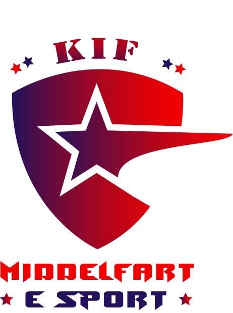 Logo til KIF Middelfart eSport lavet af Dit Online Visitkort