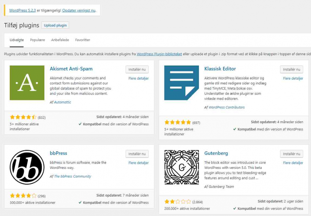 Plugins i WordPress